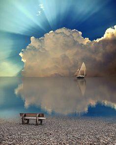 tunning Sunrise over Chios Island, Greece. Photo by Beautiful Sky, Beautiful Landscapes, Beautiful Scenery, Beautiful Photos Of Nature, Beautiful Pictures, Wonderful Places, Beautiful Places, Chios Greece, Landscape Photography