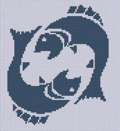 Zodiac Pisces 2 Cross Stitch Pattern    Craftsy