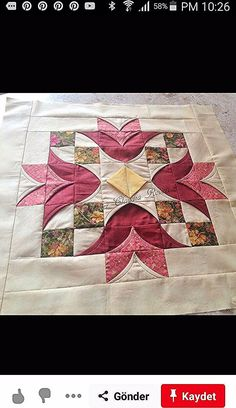 Discover recipes, home ideas, style inspiration and other ideas to try. Quilt Square Patterns, Quilt Block Patterns, Square Quilt, Pattern Blocks, Quilt Blocks, Crazy Quilting, Patchwork Quilting, Applique Quilts, Quilting Projects