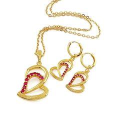 18 karat Gold plated heart shaped pendant  http://www.craftandjewel.com/servlet/the-998/18-karat-Gold-plated/Detail