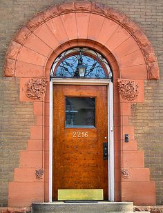 Knock on the Door, Duluth Minnesota, USA