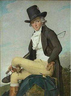 J. L. David - Portrait de Pierre Sériziat 1795