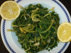 (TESTED) Awesome recipe - I used dandellons. Betty's Cuisine: Χόρτα βραστά σαλάτα
