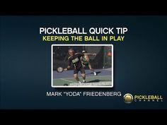 Pickleball Quick Tip – Keep the Ball in Play #pickleball #PickleballChannel