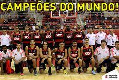 Clube de Regatas do Flamengo bate o Maccabi Tel Aviv por 90 a 77 e conquista a Copa Intercontinental de Basquete! Parabéns, rubro-negros! CURTIU?