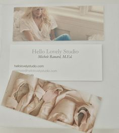 I'm crazy about my mini business cards on luxe paper from Moo. Here is why they are the cutest.