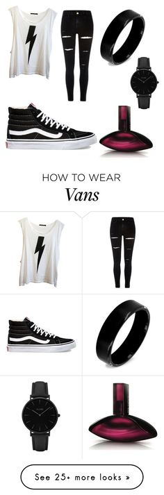 """School outfit #43"" by hoodchick on Polyvore featuring Wildfox, Vans, West Coast Jewelry, CLUSE and Calvin Klein"