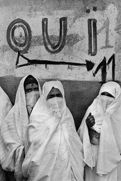 Marc Riboud, L'Algérie, 1962.