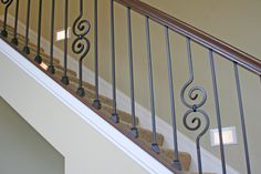 Railing detail in a custom built home by Otero Signature Homes  www.oterohomes.com