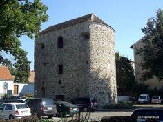 Ancient Roman tower in Tulln, Austria