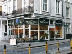 The Muffin Man Tea Shop, 12 Wrights Lane, London - Cafes, Snack Shops & Tea Rooms near High Street Kensington Tube Station