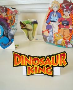Dinosaur King Playset by @MakeDoAndFriend