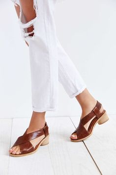dacdc78458d0 Jeffrey Campbell Colombo Crisscross Sandal - Urban Outfitters Jeffrey  Campbell