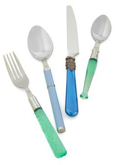 Mix & Munch Flatware Set in Ocean, #ModCloth
