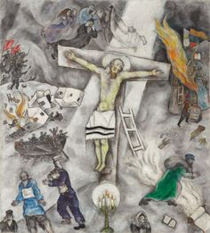 White Crucifixion | Marc Chagall, 1938, The Art Institute of Chicago