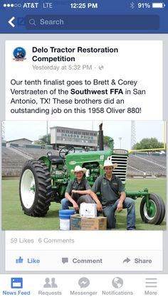2014 delo tractor restoration finalist