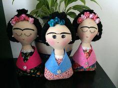 Frida Kahlo Doll por MEXCURIOS en Etsy