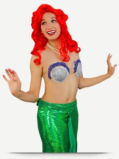 The Little Mermaid loves to sing on the sand, but she dreams to dance with those....feet!
