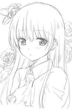 New drawing anime girl sketches manga art ideas Drawing Eyes, Manga Drawing, Manga Art, Manga Anime, Anime Art, Anime Wolf, Anime Chibi, Anime Drawings Sketches, Anime Sketch