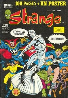 Strange #210 - Le journal de Spider-Man