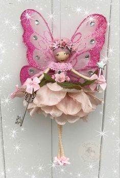 Christmas Angels, Christmas Ornaments, Fairy Dolls, Nice Things, Fairies, Projects To Try, Holiday Decor, Home Decor, Angels