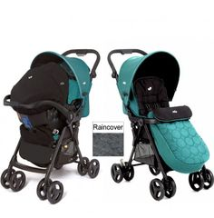 Joie Aire+ Travel System - Teal