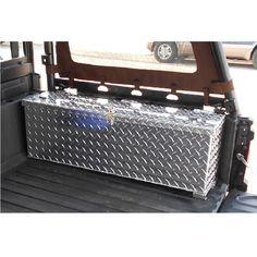 Metal Storage Box for the Polaris Ranger