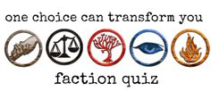 Faction Quiz - DIVERGENT Fansite Take the quiz to see what faction you are- I got dauntless! Divergent Factions Quiz, Divergent Trilogy, Divergent Insurgent Allegiant, Erudite, Divergent Birthday, Divergent Party, Teen Library, Library Ideas, Teen Programs