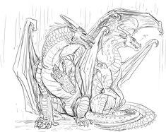 Glorybringer Sketch by JereduLevenin.deviantart.com on @DeviantArt