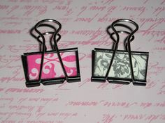Clean & Scentsible: Teacher Valentine Gift Idea. It's a whole box of goodies, but I may just do these binder clips! (bck)