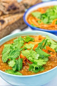 Quinoa Lentil Soup | #vegan #glutenfree www.contentednesscooking.com