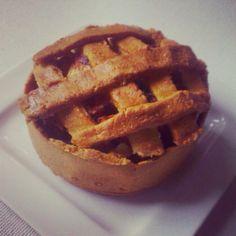 appeltaart #cleanfood #foodie #healthy #gezond #appeltaart