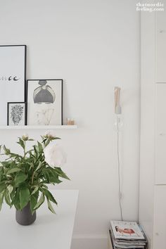 Via that nordic feeling - dining room - DIY Muuto wall lamp