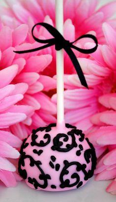 Decorated Cake Pop