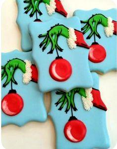 Best Christmas Sugar Cookie Recipe, Cute Christmas Cookies, Sugar Cookie Recipe Easy, Cake Mix Cookie Recipes, Easy Sugar Cookies, Christmas Baking, Christmas Fun, Cookie Favors, Baby Cookies
