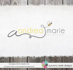 Premade Photography Logo   Camera Swirls Initial by autumnscreek, $45.00
