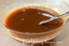 Made from scratch caramel sauce is one of those items where I can really tell a difference if it is homemade, or comes from a jar. Don't get me wrong, I like both versions, but Homemade Caramel Sauce, Caramel Recipes, Candy Recipes, My Recipes, Baking Recipes, Holiday Recipes, Favorite Recipes, Mexican Recipes, Holiday Treats