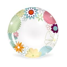 "Portmeirion Crazy Daisy 9"" Plate Coupe, Set of 4 by Portmeirion. $85.80"