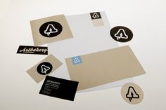 Artbakery CI and Promo Material by DEEAIT x CREATES , via Behance