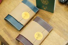 지나베 가죽공방 주문제작 여권지갑   handmade zinnave passport wallet     buttero   dakota   leather             ...