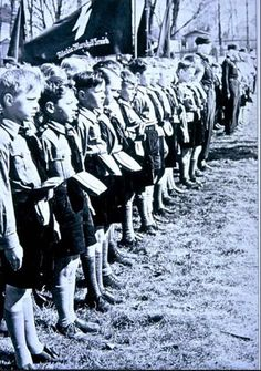 Hitler Youth marching on 18 April 1942 worldwartwo.filminspector.com