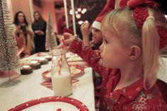 The cutest Christmas party for little girls