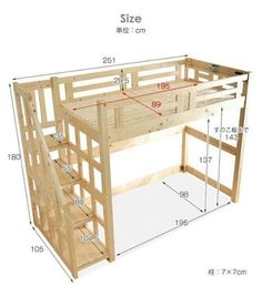 📣 31 Most Popular Kids Bunk Beds Design Ideas Make Sleeping Fun For Your Kids 31 Most Popular Kids Bunk Beds Design Ideas Make Sleeping Fun For Your Kids 26 bunkbed kidsbunkbed Different Bunk Beds With Stairs, Kids Bunk Beds, Low Loft Beds For Kids, Bed Stairs, Loft Bed Plans, Build A Loft Bed, Diy Bett, Bunk Bed Designs, Kids Bedroom Designs