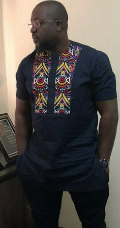 My afrocentric African Shirts For Men, African Dresses Men, African Clothing For Men, Latest African Fashion Dresses, African Print Fashion, Africa Fashion, African Attire, African Wear, Chemise Fashion