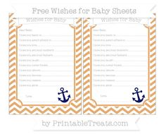 Fawn Chevron  Nautical Wishes for Baby Sheets