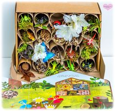 Nature Inspired TPR Bug Hotel – Real Information Forest School Activities, Nature Activities, Preschool Activities, Montessori Preschool, Insect Activities, Bug Hotel, Caterpillar Book, Hungry Caterpillar, Hotels For Kids