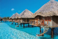 Starwood Hotel- Le Meridien. Bora Bora ---> we just bought a timeshare condo at Myrtle Beach with Sheraton and THIS place is one among many of the beautiful destinations we will be traveling to in our very near future!!!!! <3
