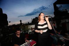 Sinead Savage... homenaje a la música soul en la terraza del Pulitzer