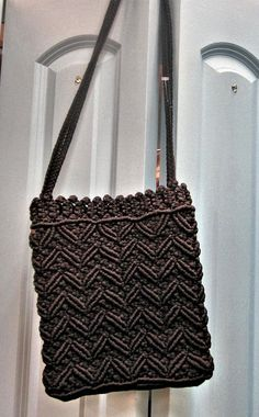 black-macrame-purse-thumb.jpg (634×1022)
