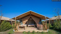 Luxury Tents in Tuscany, Italy! Another great reason to visit Italy!